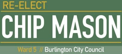 Re-elect Chip Mason, City Council, Ward 5