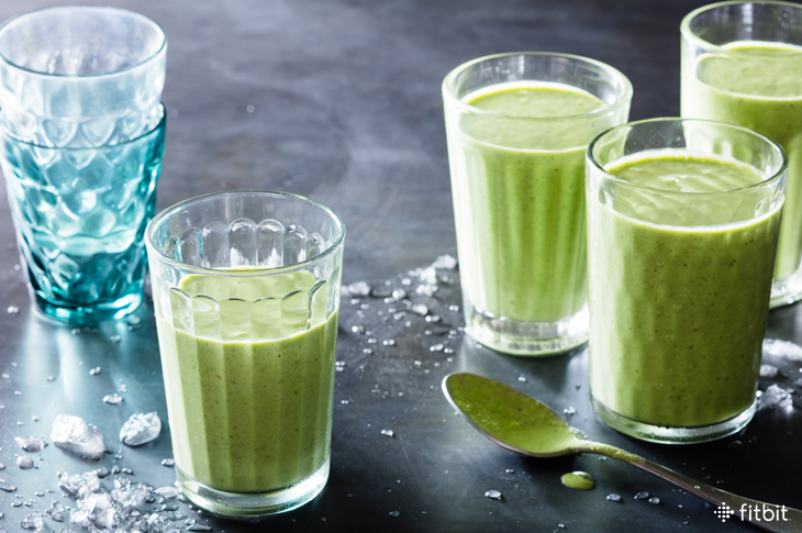 Gingery Kale Smoothie