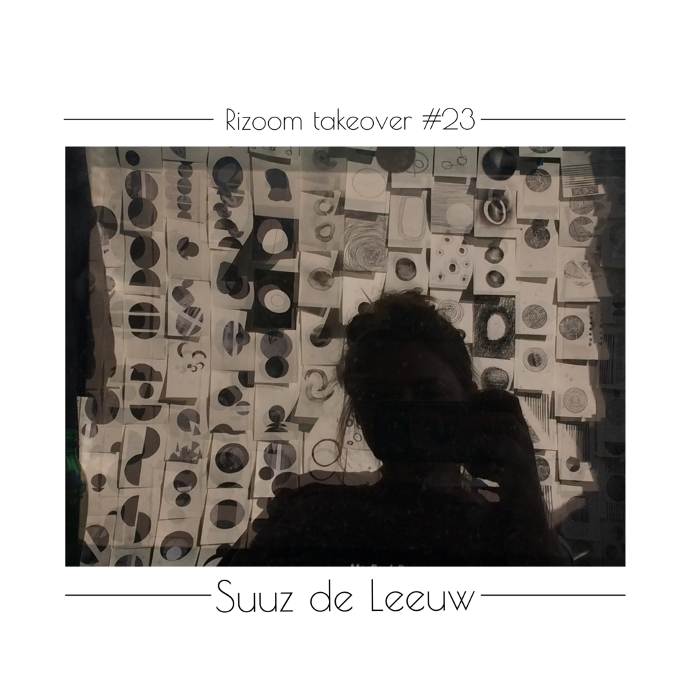 Hi you guys! My name is @suuzdeleeuw and i will be taking over the Rizoom feed this week. I'm currently working on my gratuation project #iamthebeholder in which i am challenging the beholder/viewer to reach for the very limits of their visual literacy, in the form of an somewhat abstract typeface. Much more on that later!