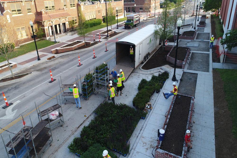 Commercial Services Scope   *Full design landscape builds *Maintenance of facility landscape