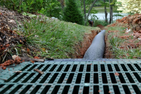 Drainage   *French drains *Tying in down spouts *Surface drains *Lawn grading