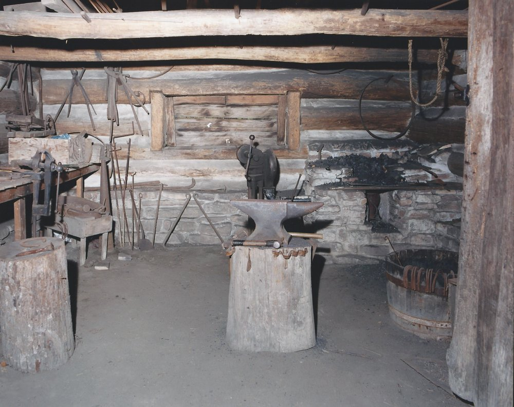 Blacksmith's Shop - Interior