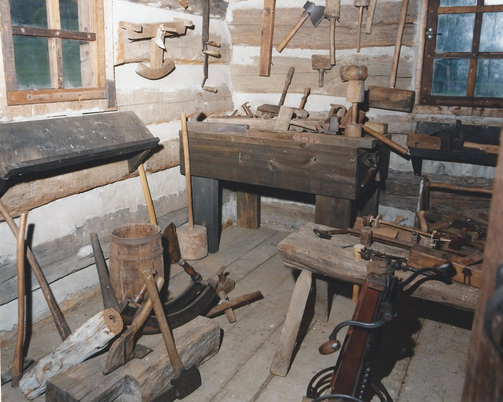 Carpenter's Shop - Interior