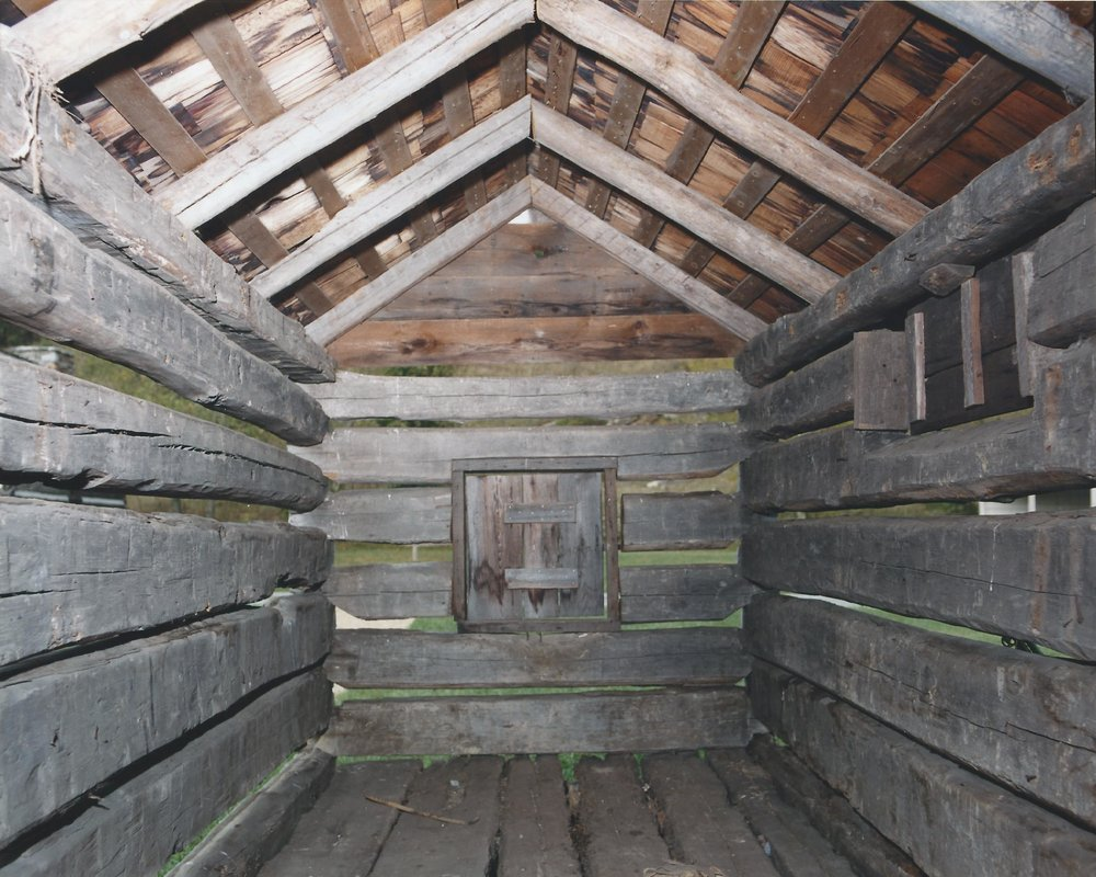 Small Corn Crib - Interior