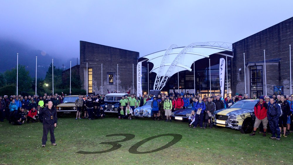Jaguar Land Rover Challenge – The largest outdoor Company Challenge in the country -