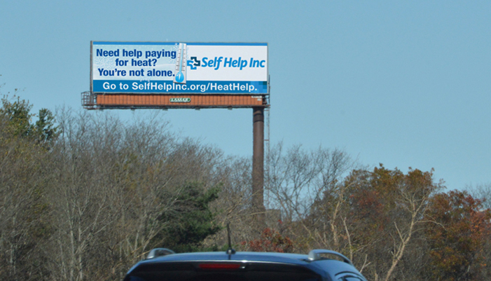 NON-PROFIT FUEL ASSISTANCE OUTDOOR BOARDS