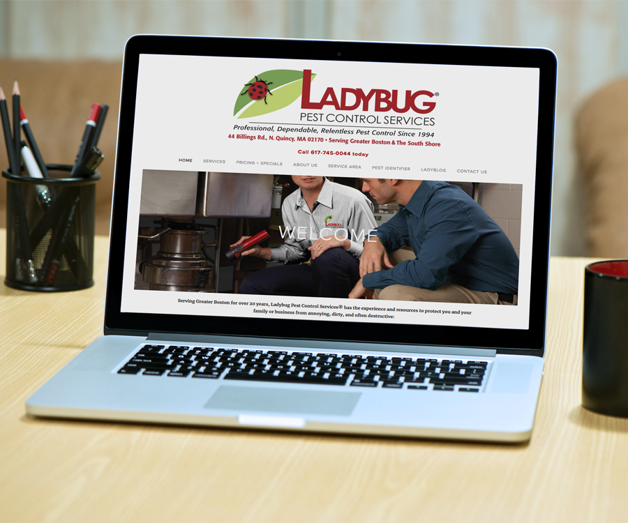 PEST CONTROL FIRM WEBSITE + SOCIAL MEDIA