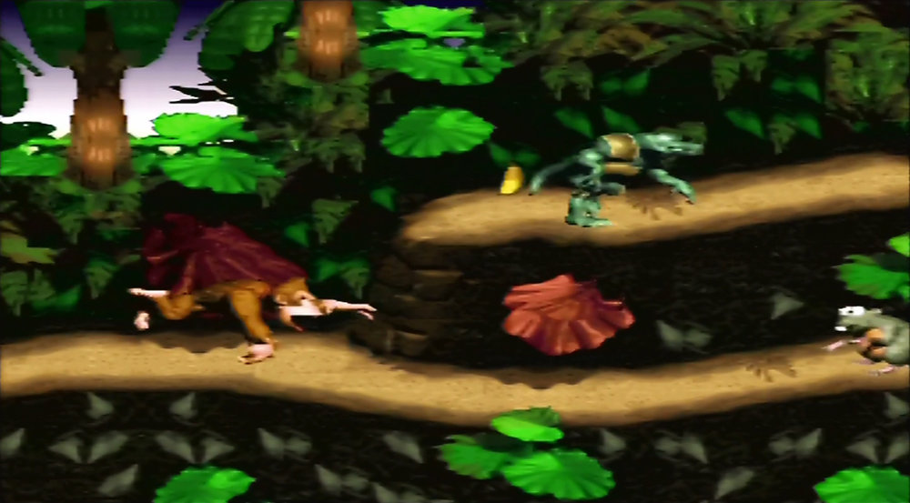 Donkey Kong Country: RCA upscaled to 1080p