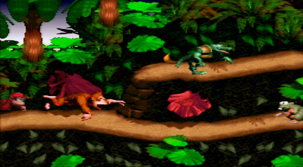 Copy of Donkey Kong Country: HD Link for SNES