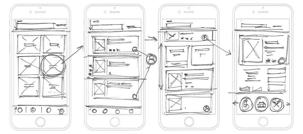 UX Damon wireframes sketches Yelp.jpg