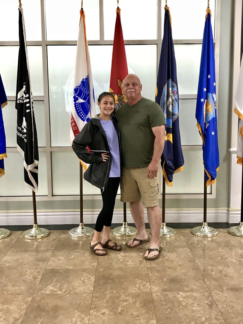 McKinley & Chris at the VA in Columbia SC