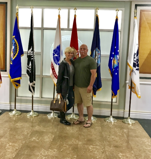 with my fave Marine-Memorial Day 2018