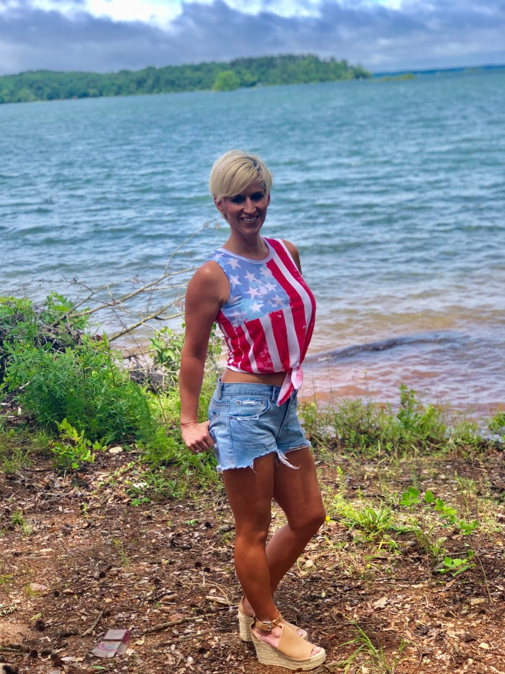 Home of the Red, White, & Blue. ALEXA ROBERTSON FITNESS.
