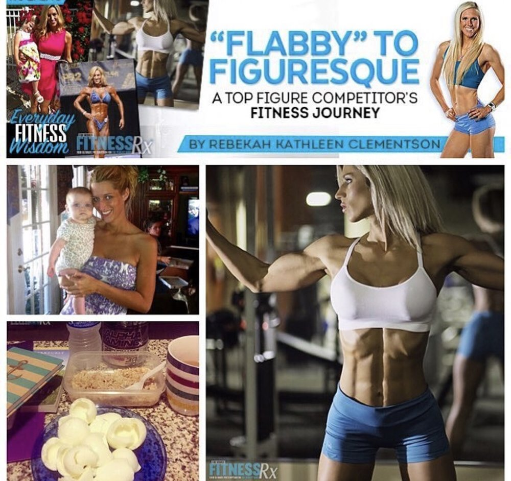 My feature in FitnessRx for Women Magazine. 6 week Shred. ALEXA ROBERTSON FITNESS.
