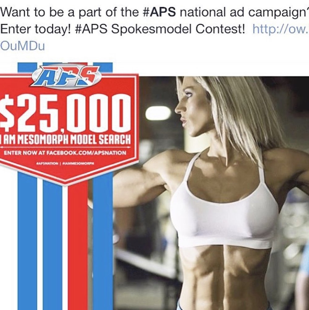 APS Model Search Finalist. ALEXA ROBERTSON FITNESS.