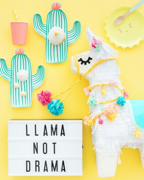Someone decided Llamas were a thing...and I am SOOO glad they did.