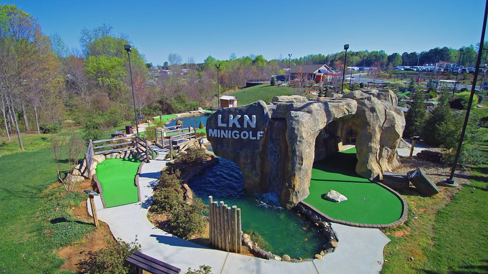 Lake Norman Miniature Golf works hard to create a fun, family atmosphere for our customers. Please make sure to like our Facebook page and follow us on Instagram for daily specials.   Thank you for visiting LKN Mini Golf.