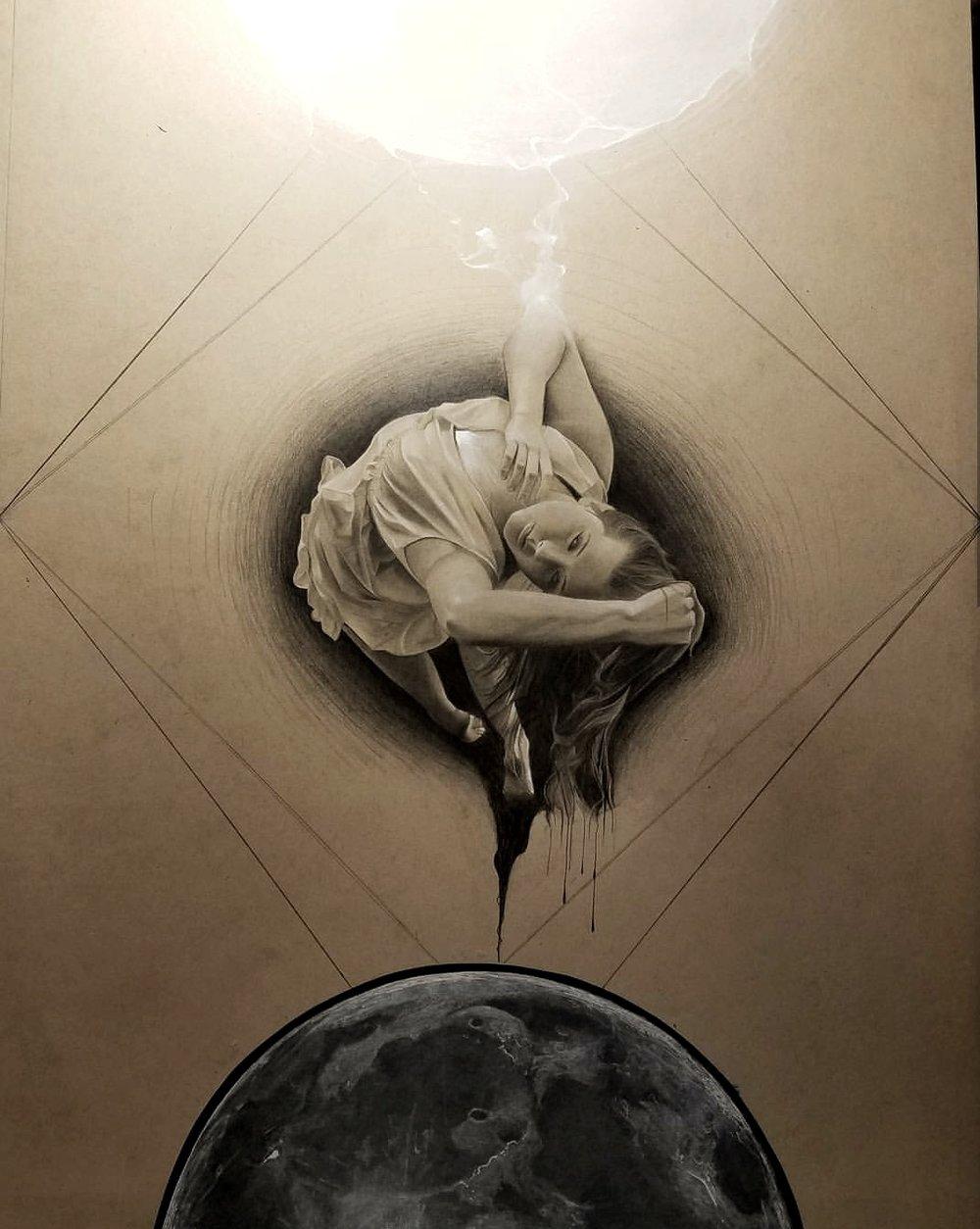 Rebirth, 18X24