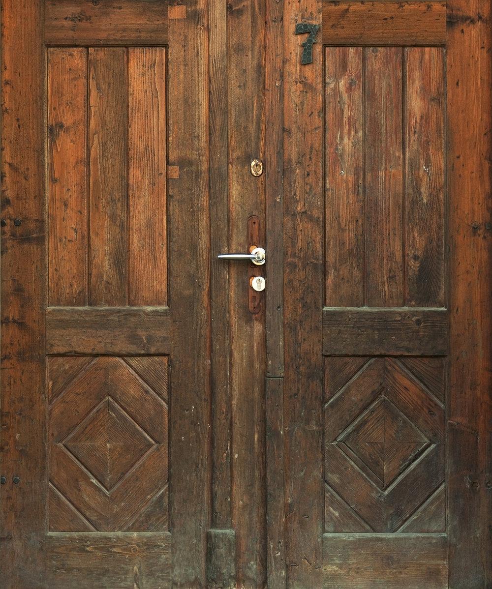 Antique Weathered Double Door.jpg