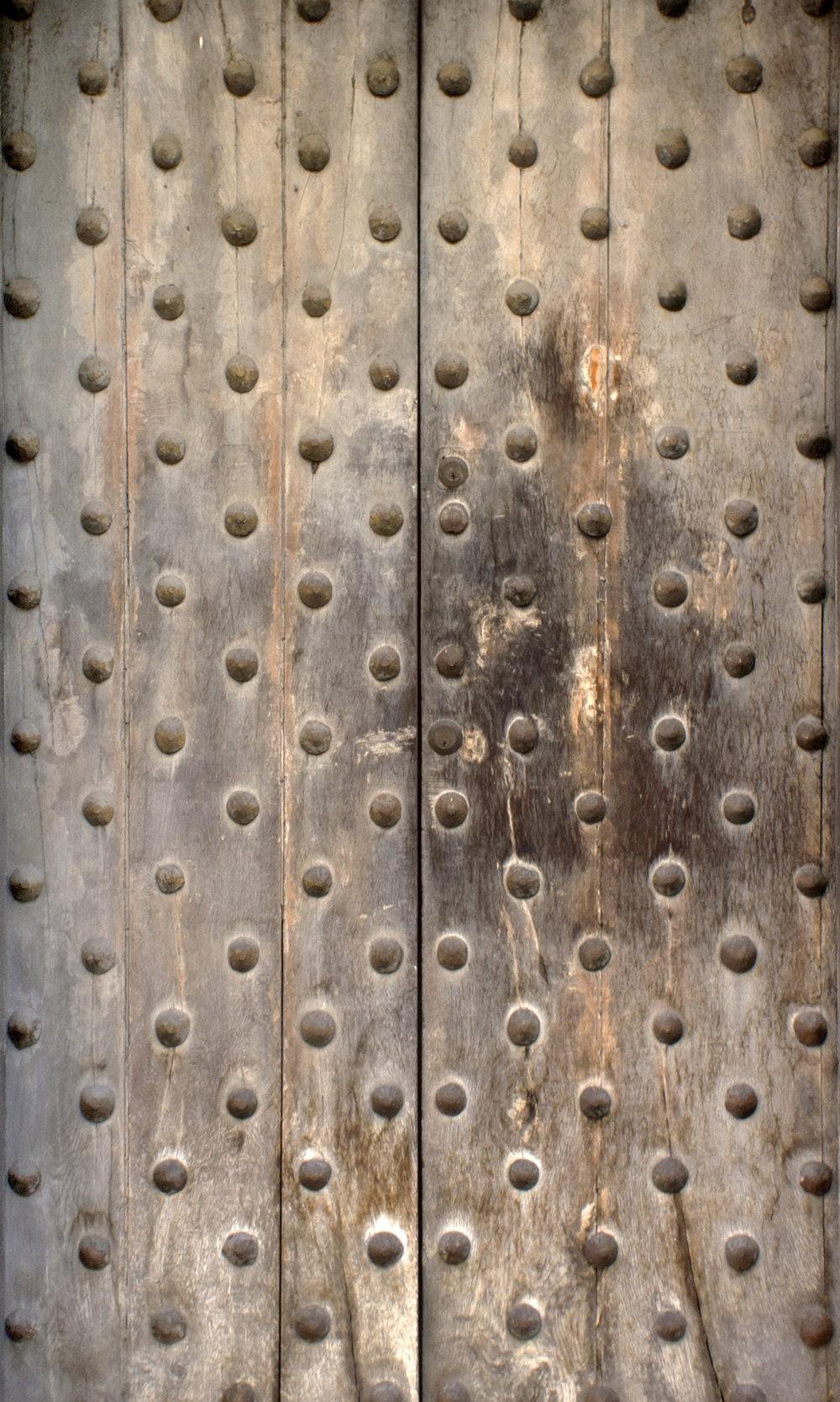 Bumpy Medieval Door.jpg
