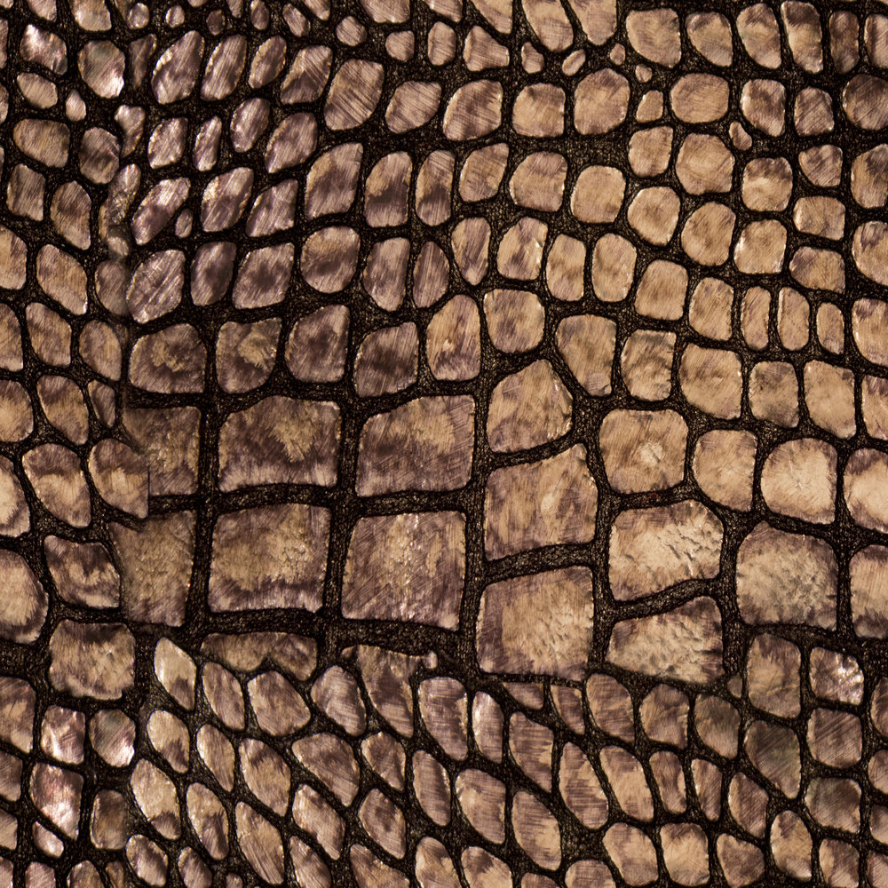 Croc Skin Brown Leather.jpg