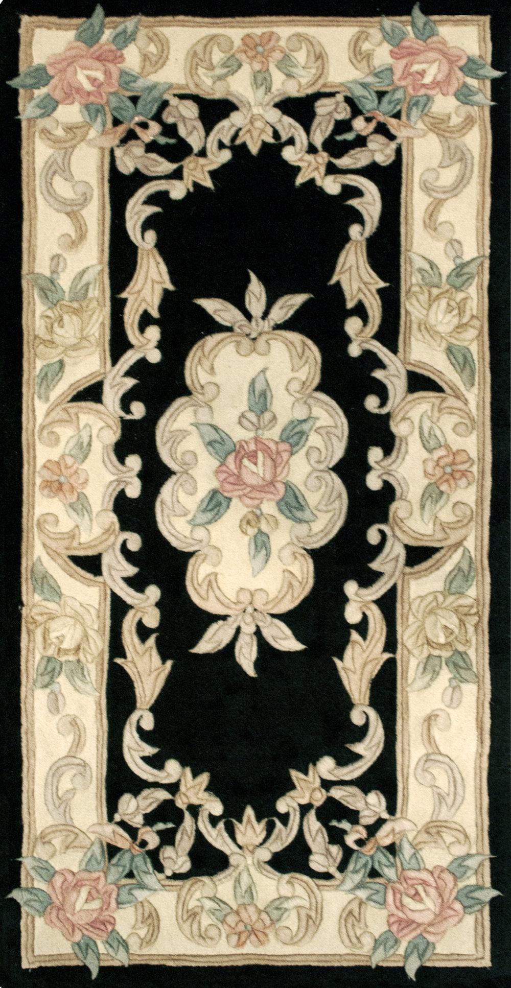 Black Centered Floral Rug .jpg