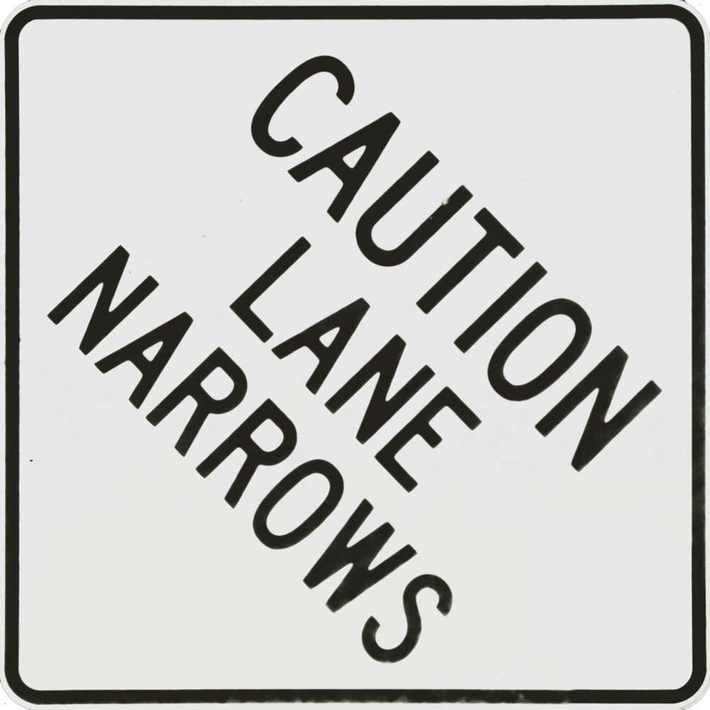 Caution Lane Narrows.png