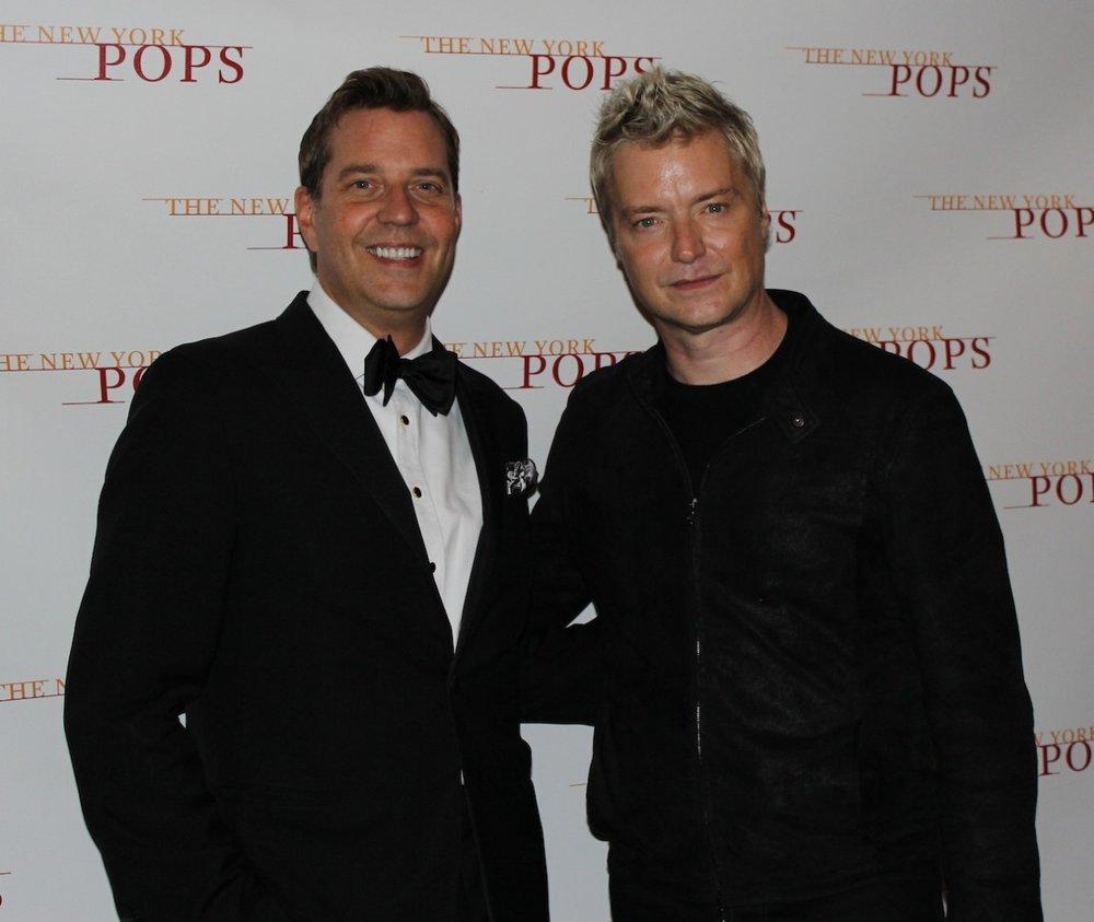 Steven Reineke and Chris Botti