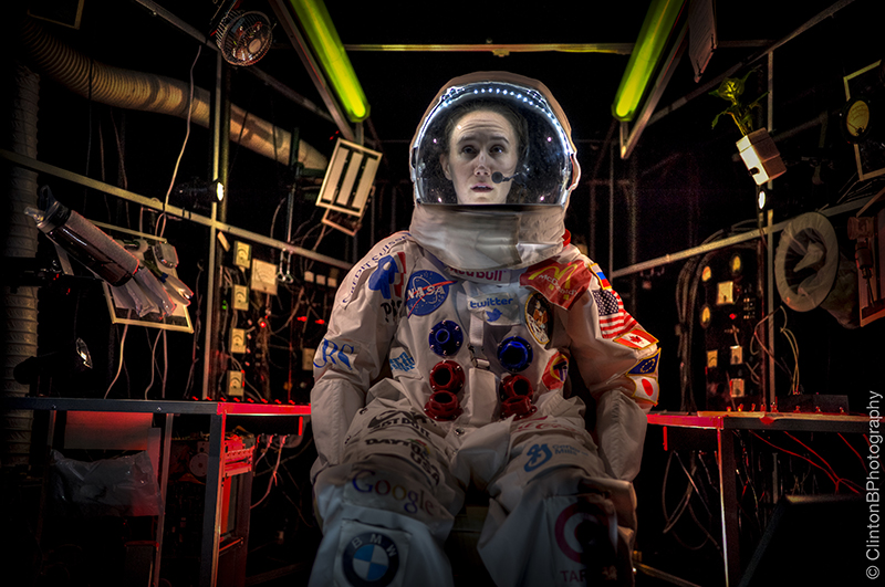 "Erin Treadway in ""Spaceman"", Photo Credit: Clinton Brandhagen"