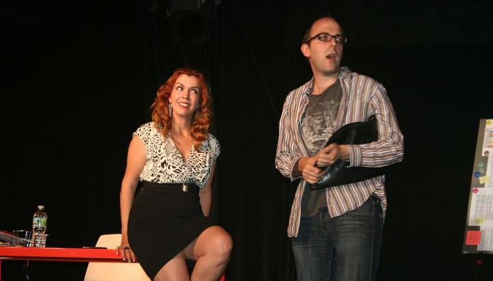 "Eileen Faxas and Josh Mesnik in ""Have I Got A Girl For You"", Photo Credit: John Capo Public Relations"