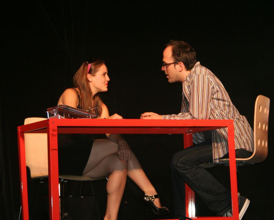 "Kim Dean Morgan and Josh Mesnik in ""Have I Got A Girl For You"", Photos Credit: John Capo Public Relations"