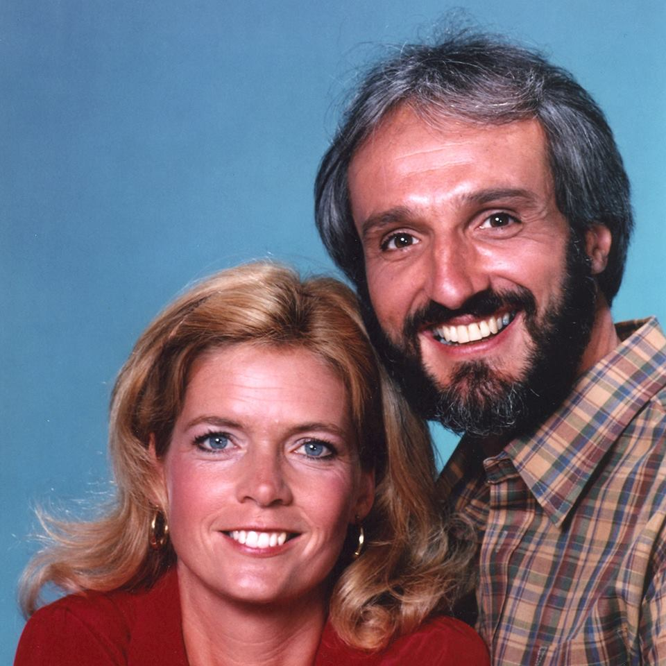 "Meredith Baxter and Michael Gross as ""Elyse and ""Steven Keaton"" on NBC's ""Family Ties"""
