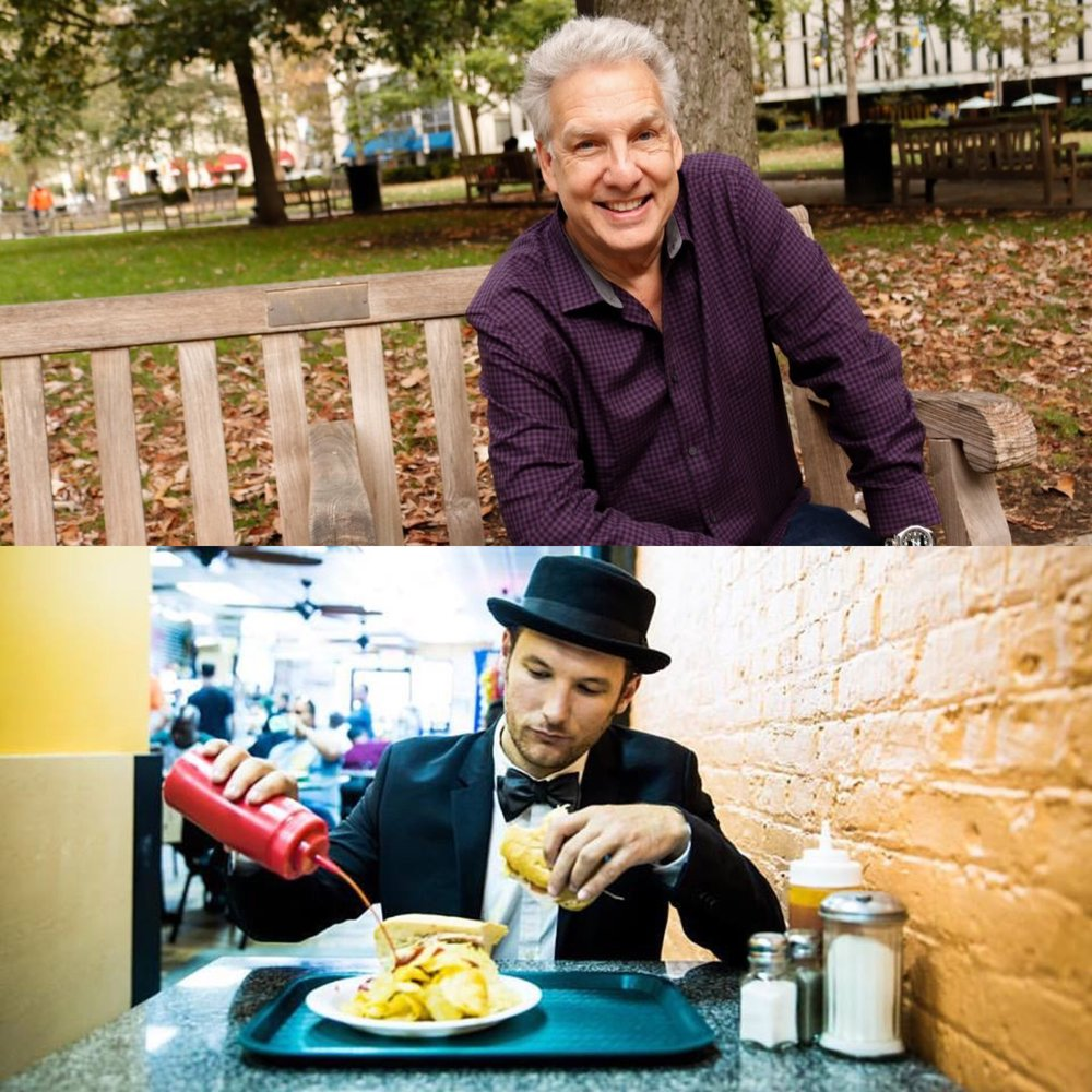 Marc Summers (Top) and Drew Gasparini (Bottom, Photo Credit: Murphy Made Photography)
