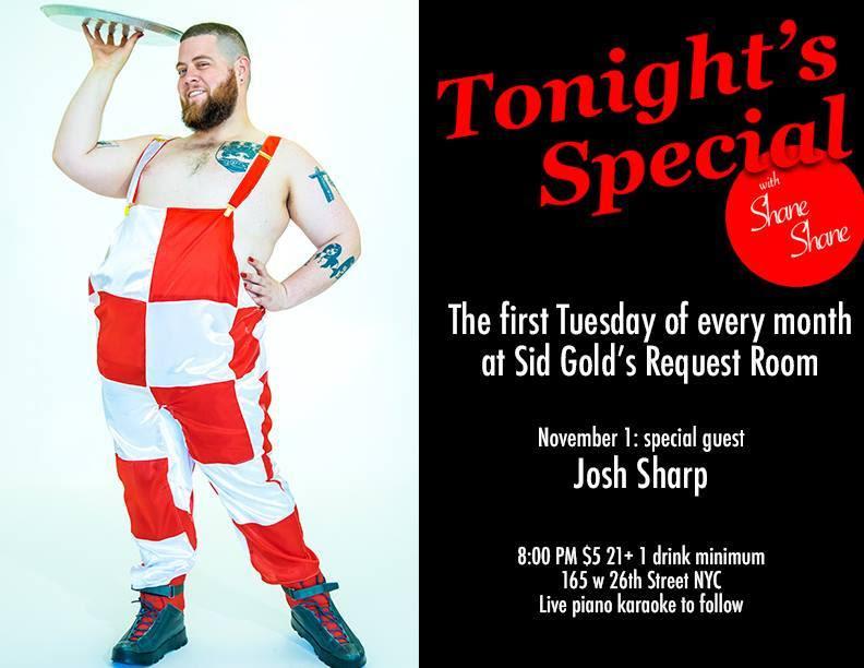 Shane Shane Tonights Special poster.jpg
