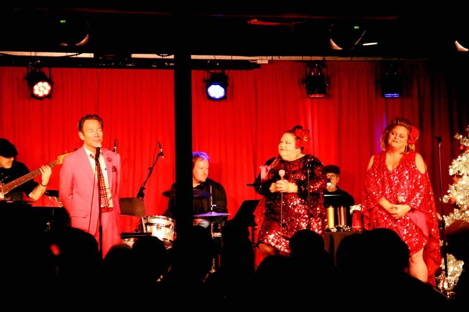 Cortés Alexander,Melissa Bailey & Lisa Donahey performing at Vitello's