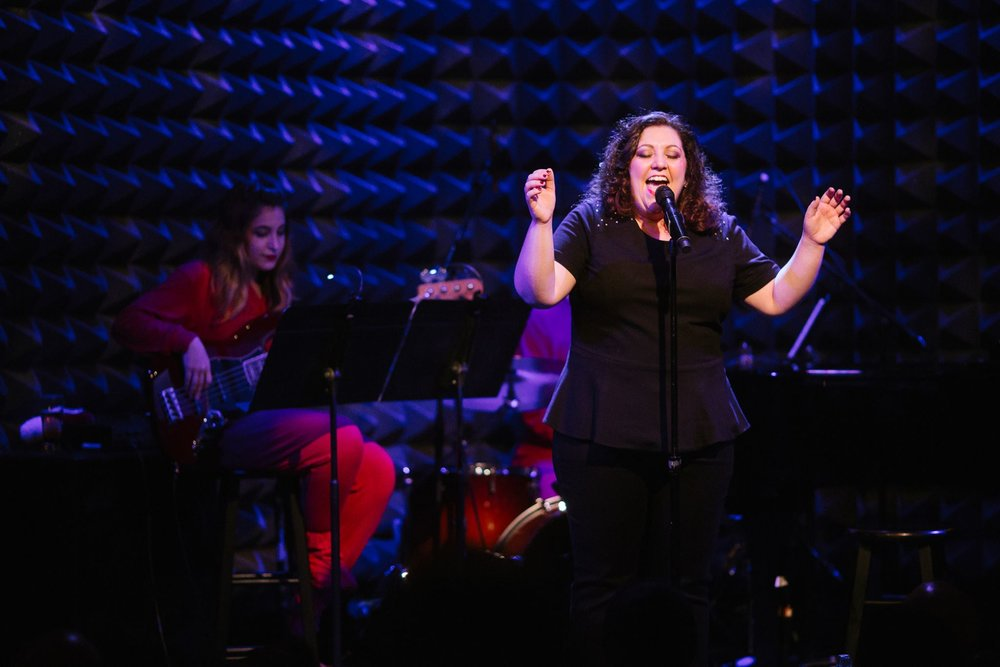 Tori Scott performing at Joe's Pub, Photo Credit: Da Ping Luo