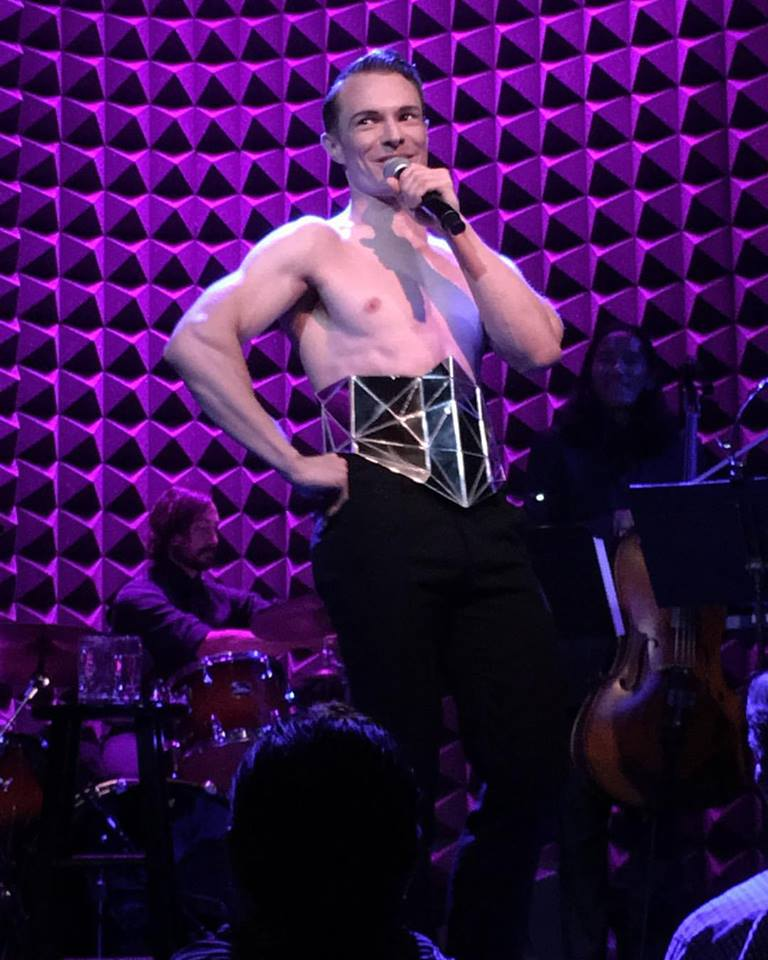 Kim David Smith performing at Joe's Pub