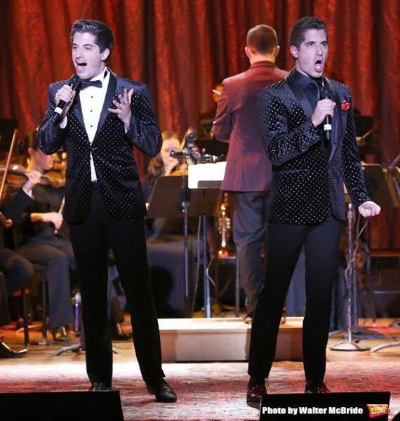 Anthony and Will Nunziata performing, Photo Credit: Walter McBride