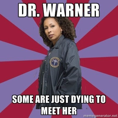 "Tamara Tunie as ""Dr. Melinda Warner"" on ""Law & Order: SVU"""