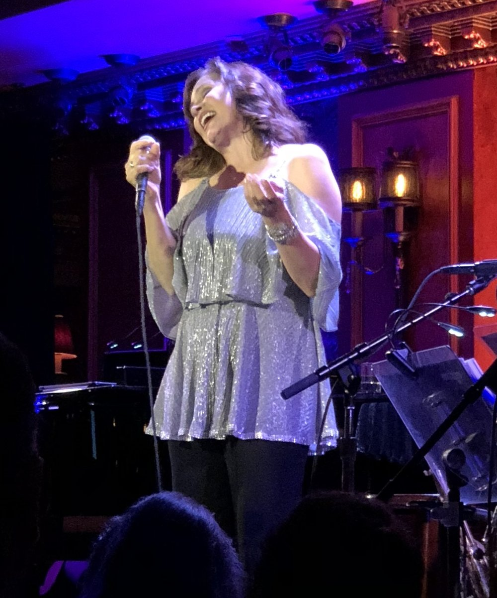 Linda Eder at Feinstein's/54 Below, Photo Credit: Adam Rothenberg