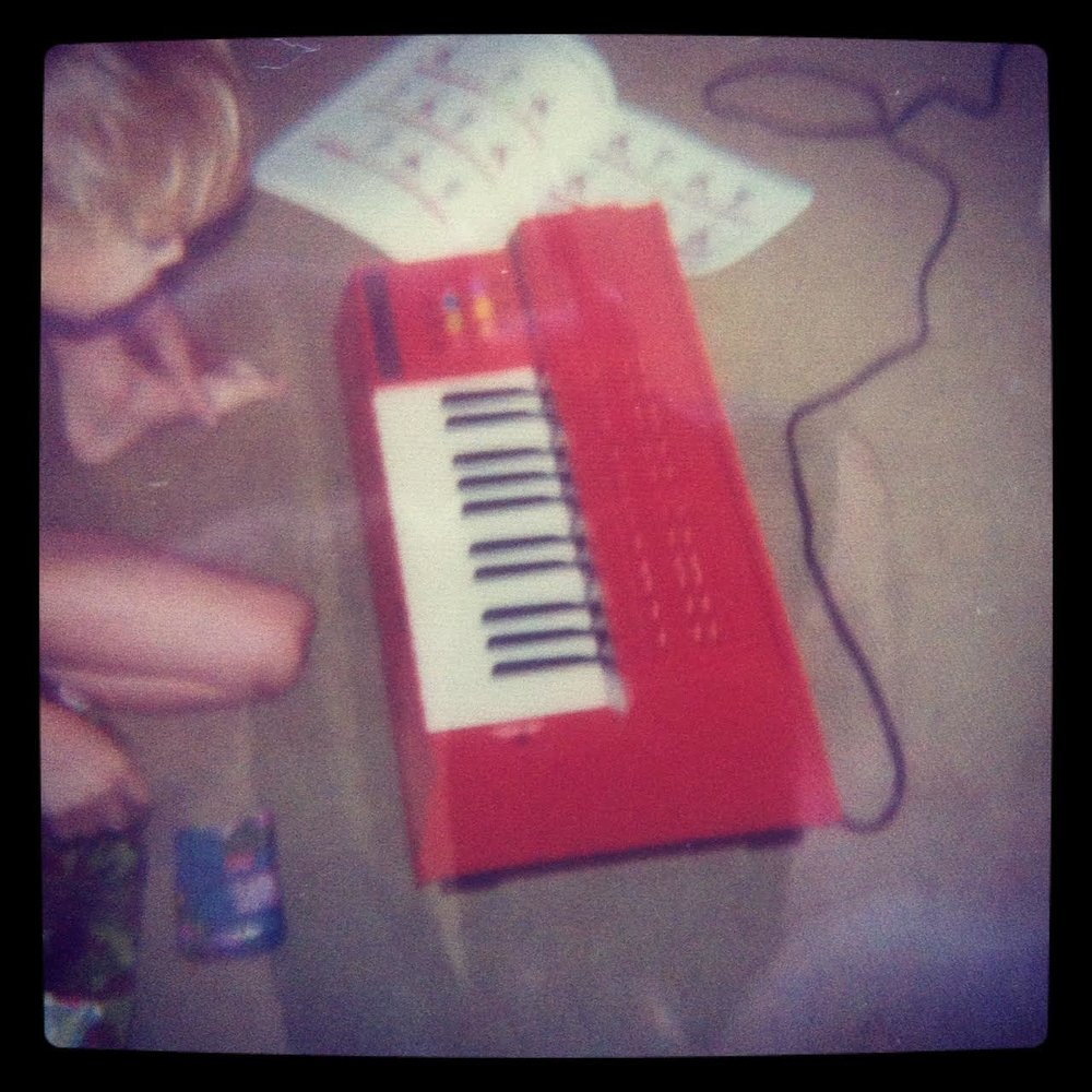Michael Harren and his orange organ