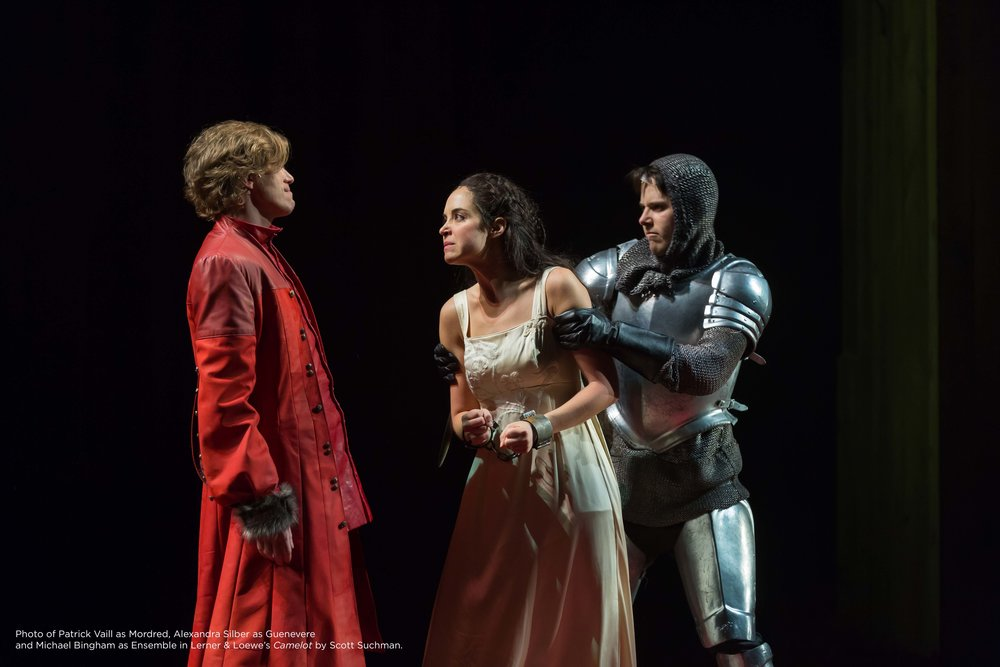 "Alexandra Silber in Lerner & Lowe's ""Camelot"" at Shakespeare Theatre Company in Washington DC, Photo Credit: Scott Suchman"