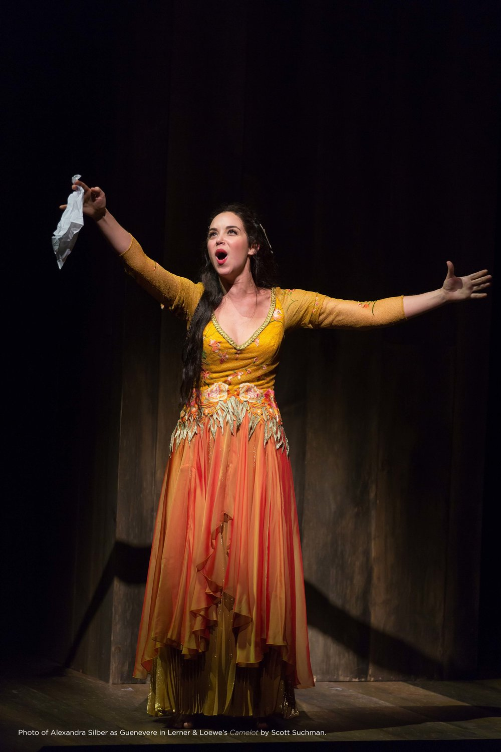 "Alexandra Silber in Lerner & Lowe's ""Camelot"" at Shakespeare Theatre Company in Washington, DC, Photo Credit: Scott Suchman"