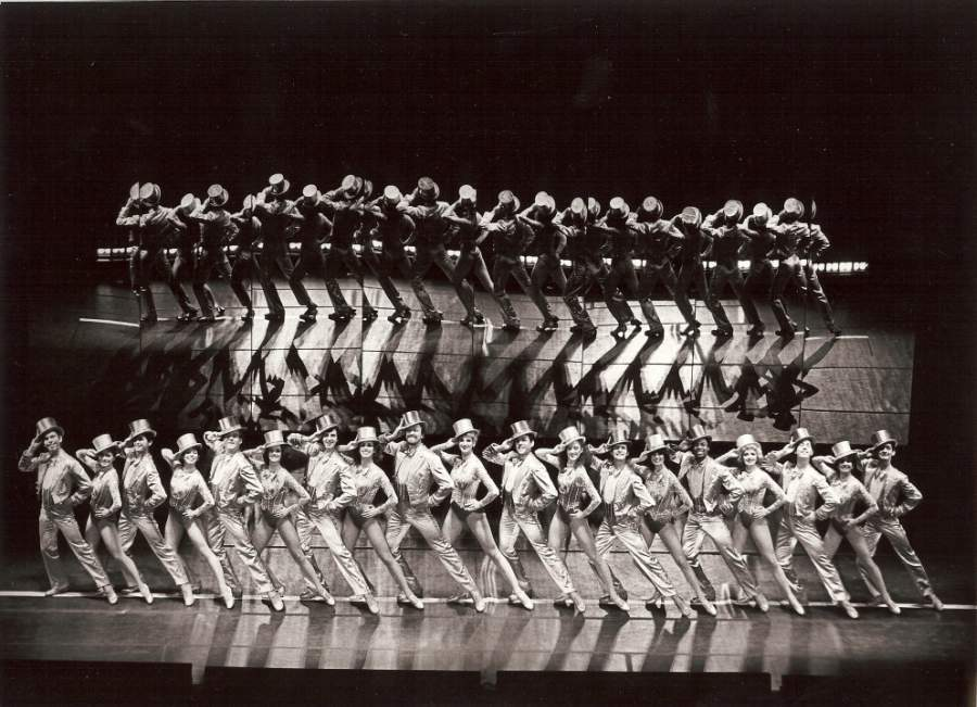 "Original Bus & Truck Touring Cast of ""A Chorus Line,"" 1980, Photo Credit: Martha Swope"