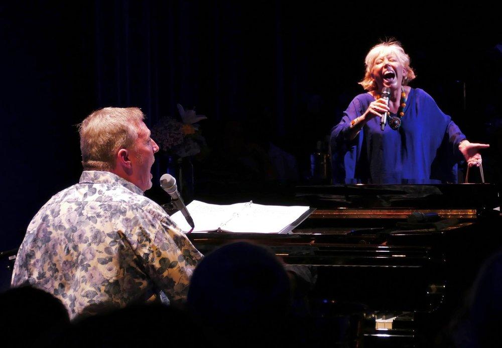 John McDaniel and Barb Jungr performing, Photo Credit: Jim Gavin