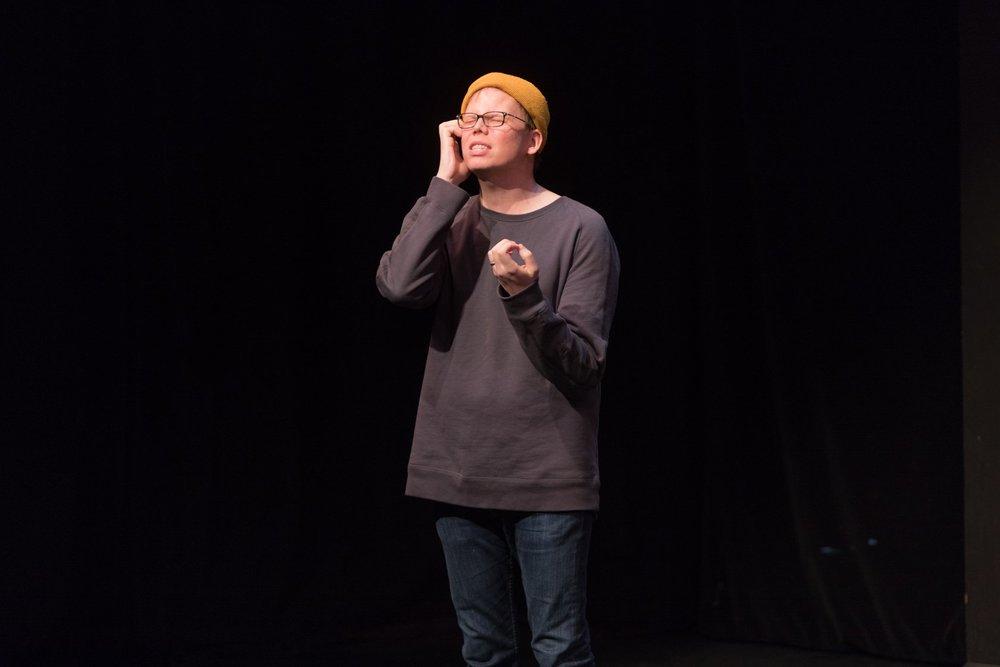 Jeff Hiller performing at UCB