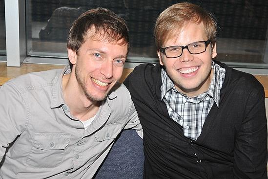 Michael Friedman and Jeff Hiller
