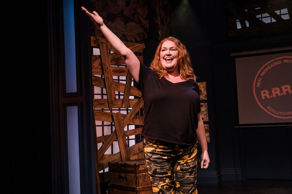 "Katie Thompson in ""R.R.R.E.D. A Secret Musical"", Photo Credit: Evan Zimmerman for MurphyMade"