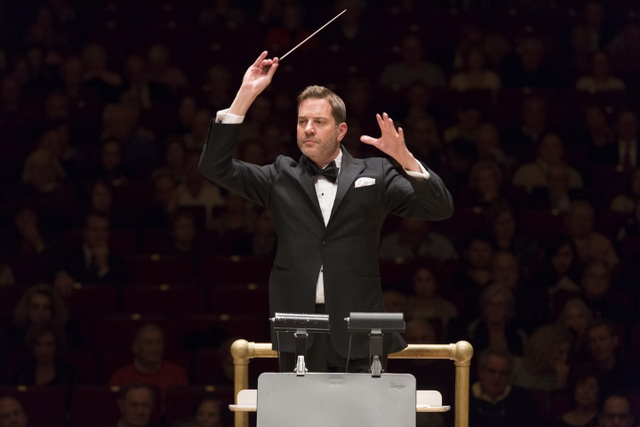 Steven Reineke conducting, Photo Credit: Richard Termine