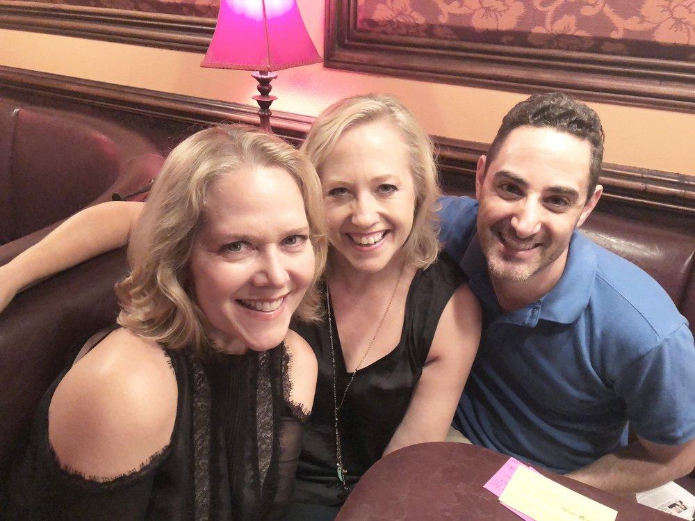 Rebecca Luker (left), Sally Wilfert (center), Call Me Adam (right)
